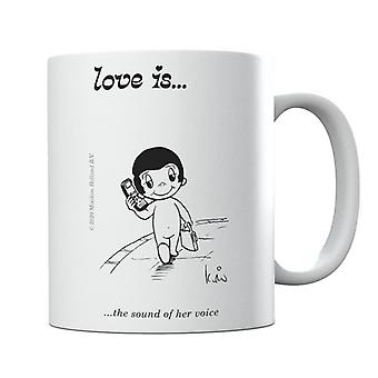Love Is The Sound Of Her Voice Mug