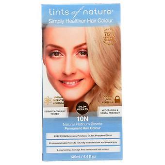 Tints of Nature Permanent Hair Color, 10 N Natural Platinum Blonde 4.4 Oz
