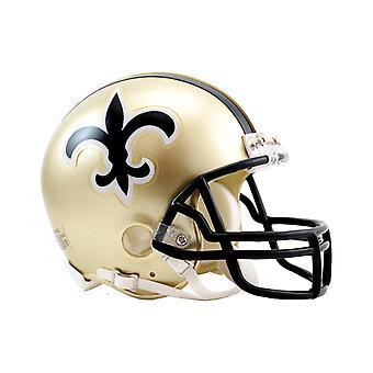 Riddell VSR4 Mini Football Helmet - New Orleans Saints 1976-99