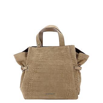Orciani B02067cashmerecoccofarro Women's Beige Leather Handbag