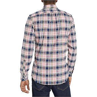 Brand - Goodthreads Men's Slim-Fit Long-Sleeve Plaid Oxford Shirt