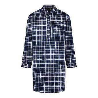 Campion Mens Periat Bumbac Canterbury Verificat Nightshirt Sleepwear