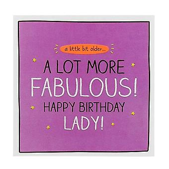 Pigment Happy Jackson A Lot More Fabulous! Birthday Lady Card