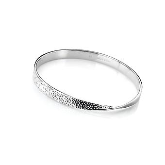 Hot Diamonds Sterling Silver Quest Twist Bangle DC168