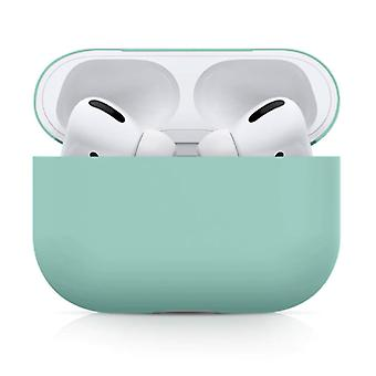 SIFREE Flexible Case for AirPods Pro - Silicone Skin AirPod Case Cover Smooth - Light Green