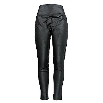 All Worthy Hunter McGrady Leggings Ultimate Faux Leather Black A387467
