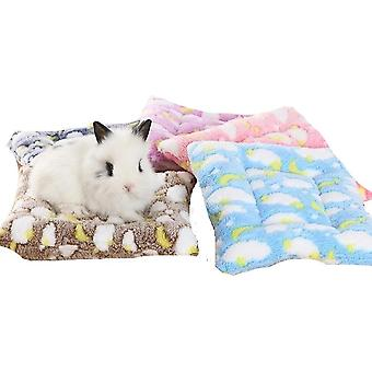 Small Guinea Pig Hamster, Squirrel, Hedgehog & Rabbit Bed Mat For House