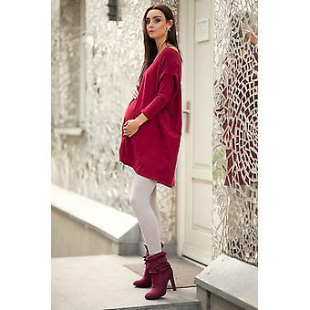 Warm Thick Winter Full Length Maternity Cotton Pant Preg28