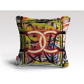 Almofada/travesseiro de grafite cc neon