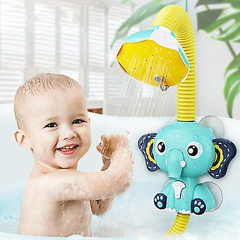 Bad Legetøj Baby Vand Game Elephant Model Vandhane Bruser Elektrisk vand spray legetøj til børn svømning badeværelse baby legetøj
