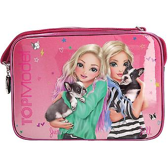 Depesche 10766 Shoulder Bag Topmodel Friends, Pink