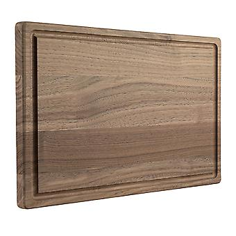 Walnut Wood Cutting Board With Juice Groove