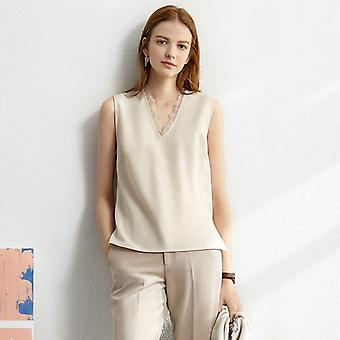 Amii Minimalism Set Autumn Solid Blazer, Tanks, High Waist Pants Sold