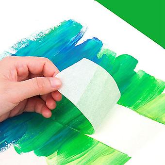 Watercolor Masking Adhesive Tape Painting Textured Paper Tap Cover Glue Sketch