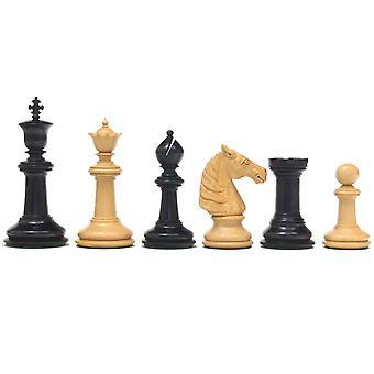 Klassieke Staunton Ebony Bad serie schaakstukken 4,25 inch