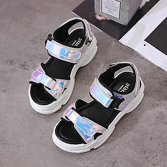 Sexy Open-toed Sport, Wedge Hollow Out Women Sandals Outdoor Cool Platform