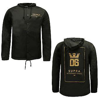 Supra Mens OG International Coaches Jacket Wind Breaker Coat 102090 080 A38A