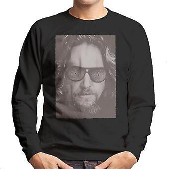 The Big Lebowski The Dude Face Carpet Shades Nostalgia Men's Sweatshirt