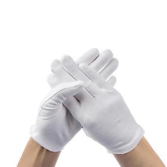 Weiche Baumwolle Schmuck Silber Inspektion dehnbar Enlining Handschuh