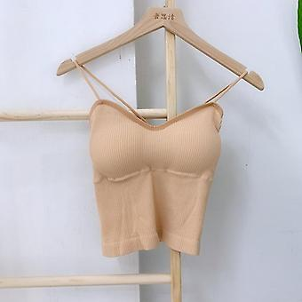 Tank Crop Top Maglia Femminile Sexy Lingerie Seamless Intimo Streetwear