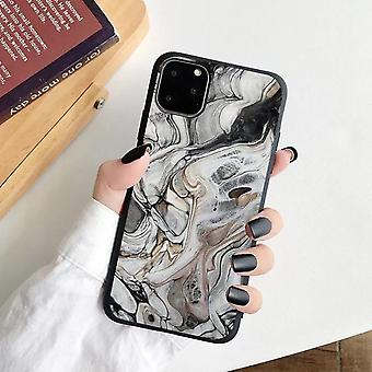 iPhone 12, 12 Pro & 12 Pro Max Shell marble stone watercolor