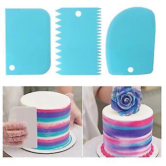 Dort Špachtle Cake Edge hladší dort škrabka krém zdobení DIY nádobí nádobí kuchyňské dort nástroj