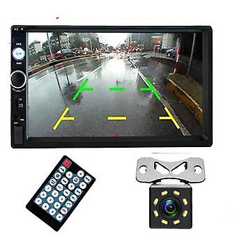 "Car Radio 7"" Hd Autoradio Multimedia Player 2din, Car Stereo Mp5 Bluetooth Usb"