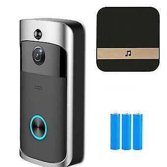 Ip Video Domofon, Wi-fi Door Phone Bell, Aparat dzwonka do drzwi dla apartamentów, Ir