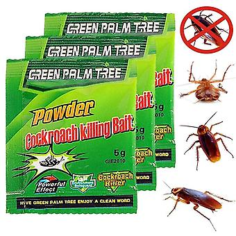 1 Pack Green Leaf Powder Cockroach Killer Bait Reseller Killing Trap Pest