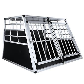 Pet Lodge Double Door Dog Crate Cage