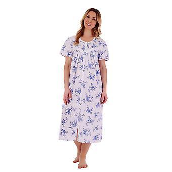 Slenderella ND77207 Women's Floral Cotton Nightdress
