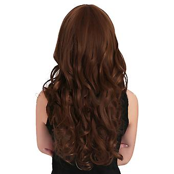 Long Curled Hair Wig Cap Japanese Kanekalon Silk