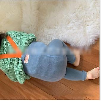 Pantalon de suspension de bébé automne salopette mignonne solide d'hiver coton tricoté d'enfant en bas âge