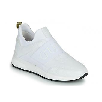 Shoes Women's Sneaker Guess Maygin White Multilogo Ds21gu41 Fl6myipel12