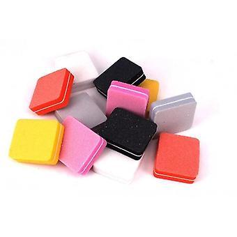 Mini nail file spugna colorato tampone di levigatura Uv Gel Polish Set
