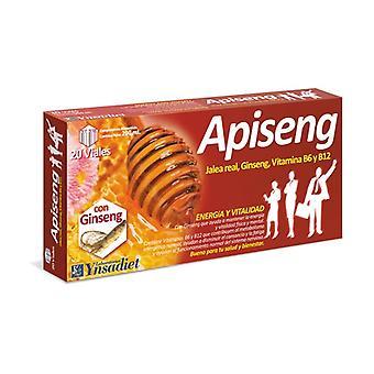 Apiseng Jelly and Ginseng 20 vials