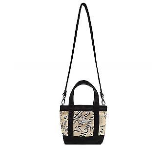 Vivienne Westwood Accessories Africa Mini Canvas Utility Shopper Bag