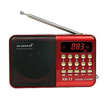 Kannettava Mini Digitaalinen Radio Kaiutin Fm Radio Usb Tf Mp3 Music Player