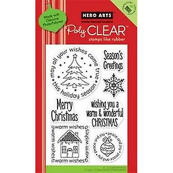 Hero Arts Wishes Come True Clear Stamp