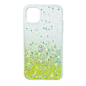 Phone Case (White) Glitter ShockProof Soft TPU Silicone For iPhone 11
