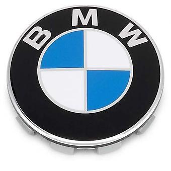 BMW Blue Wheel Center Cap Hub Badge 68mm 1 PCS For 13 5 7 Series, X6, M3, Z4, E46, E90