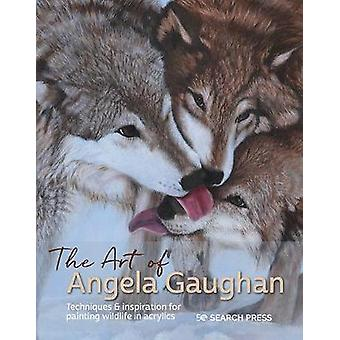 The Art of Angela Gaughan Techniques  inspiration for painting wildlife in acrylics