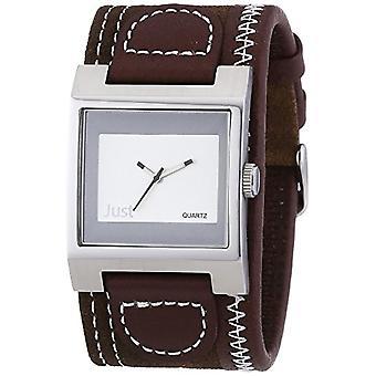 Just Watches - Wristwatch, analog quartz, leather, Man(2)