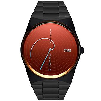 STORM London Fibon-X Slate Red - Men's watch with stainless steel case and mineral glass, waterproof up to 5 bar