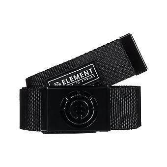 Element Beyond Webbing Belt in All Black