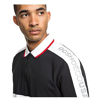 DC Walkley Polo shirt in Racing Red