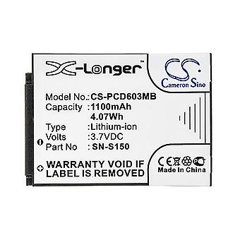 Cameron Sino Pcd603Mb Battery Replacement For Philips Baby Phone