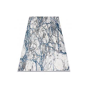 現代のNOBLEラグ9962 68大理石、石 - フリースクリーム/ブルーの構造2レベル