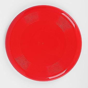 2ks 27 cm červené detské outdoorové športové hračky šetrné k životnému prostrediu plastové hry pre domáce zvieratá zahustené okrúhly lietajúci tanier az2814