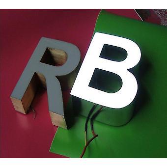 Розетка Наружная яркая смола Сторона и задняя светодиодная подсветка Буквы